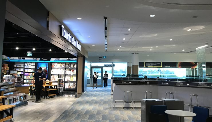 Giftshop/Convenience store at the airport