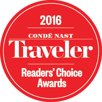 Conde Nast Traveler Reader' Choice Awards