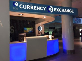 Currency Exchange Desk