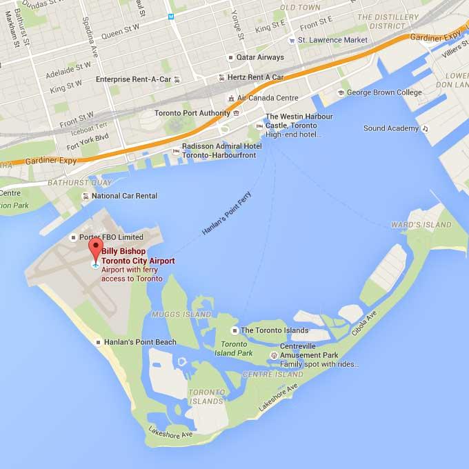 Toronto Islands Closed