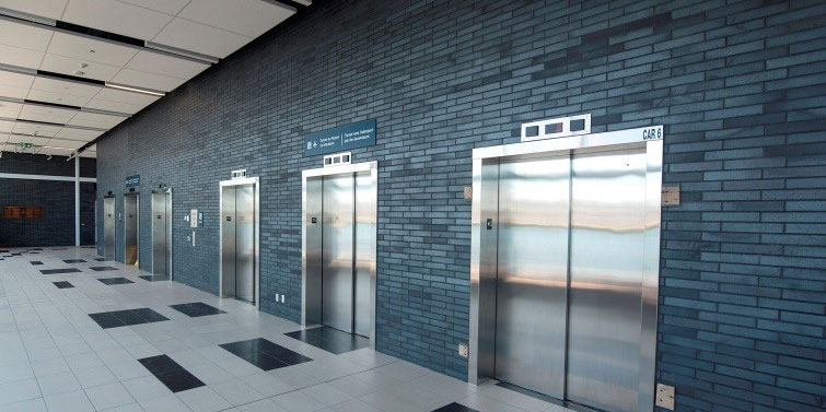 Pedestrian tunnel elevators